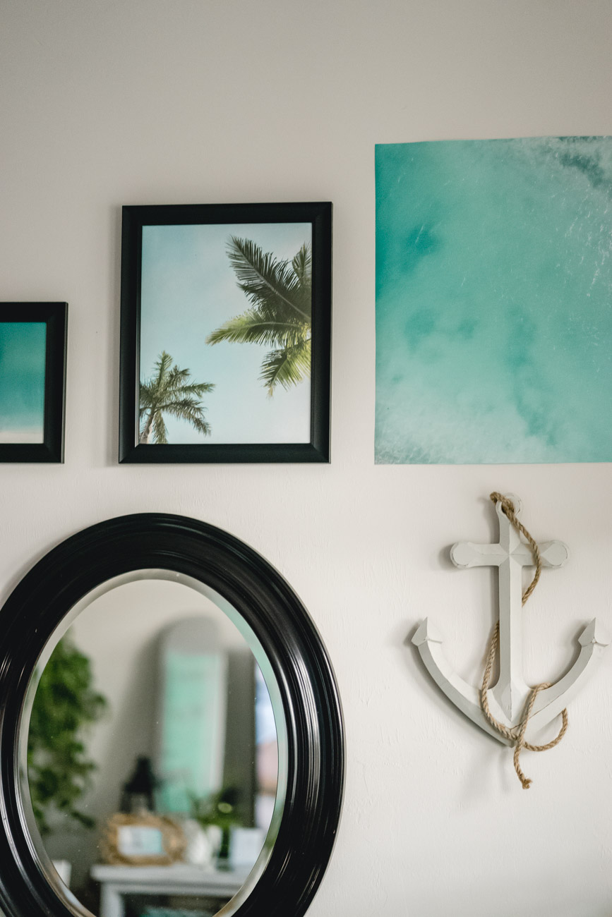 Gallery Wall - Sweet Teal