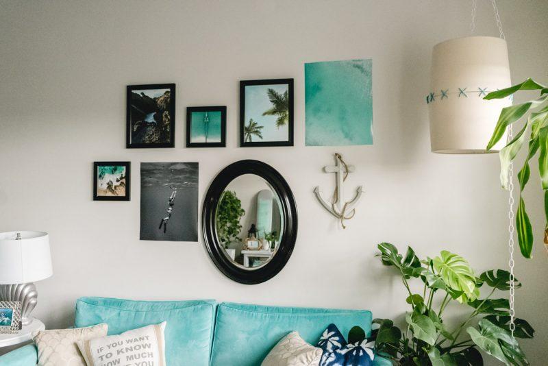 Gallery Wall Tips - Sweet Teal