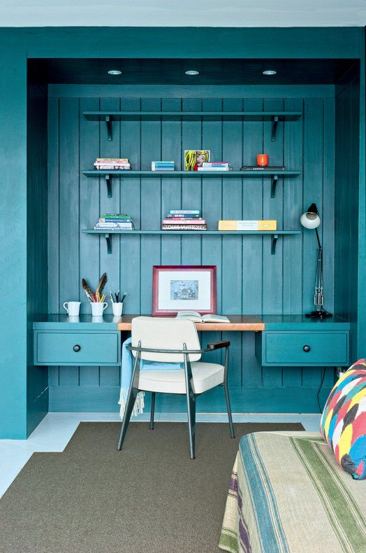 Dreamy Work Space - Desk in closet