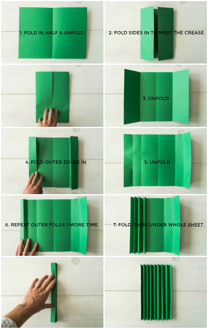 How To Fold Paper Like An Accordion-2