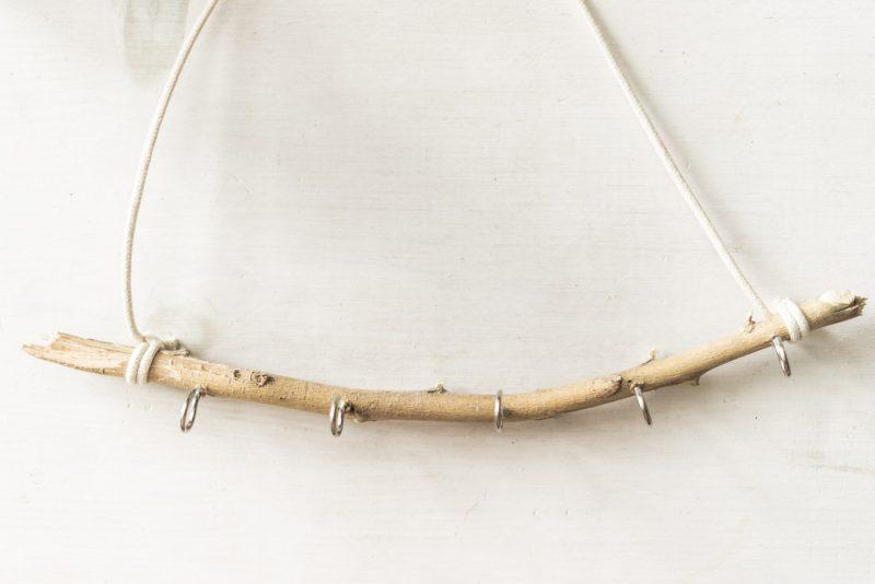DIY jewelry holder (process) - sweet teal