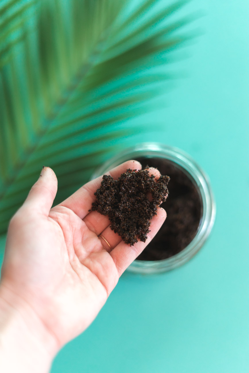Beauty and health benefits of a DIY Coconut Coffee Scrub