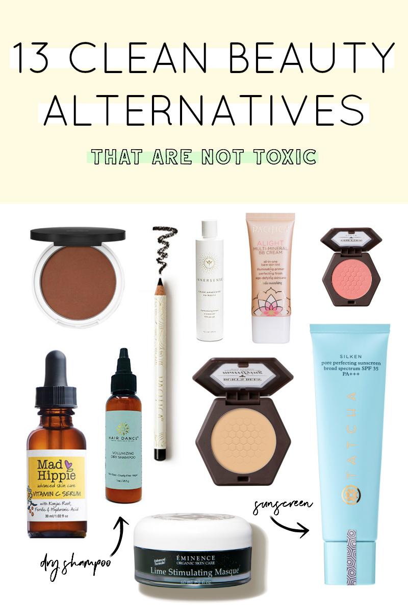 13 Clean Beauty Alternatives - Sweet Teal