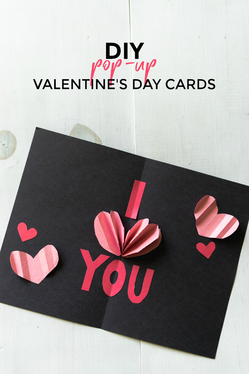 DIY Pop-Up Valentine's Day Cards by Jenny of Sweet Teal