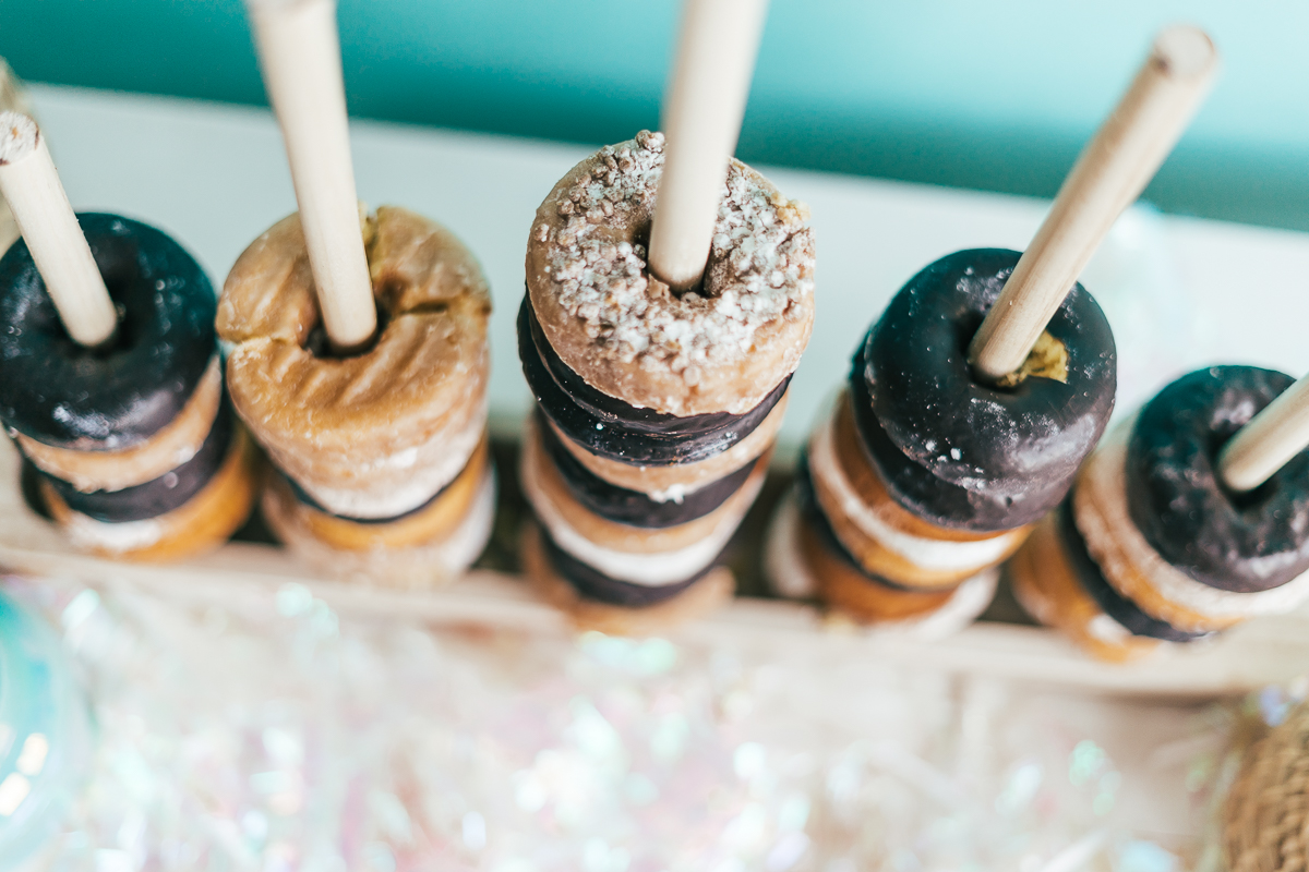 How To Make A Stand For Donuts - Sweet Teal