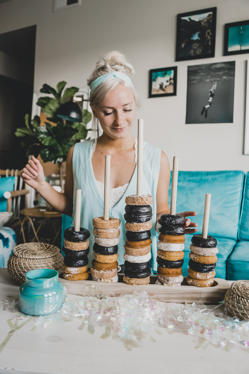 How To Make A Donut Stand - by Jenny of Sweet Teal