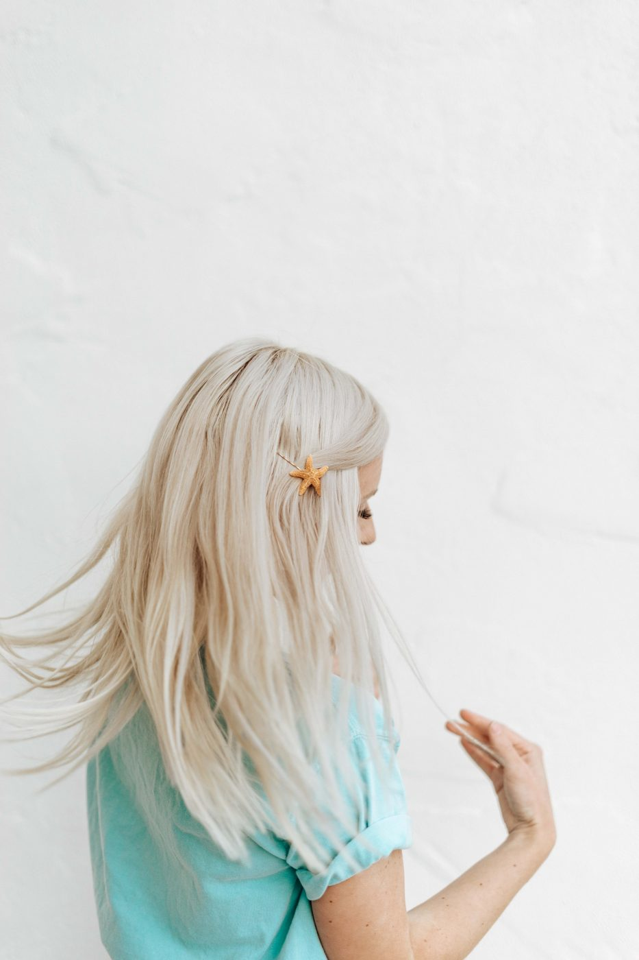 DIY Starfish Hair Pin - Hair Accessories - Sweet Teal by Jenny Bess