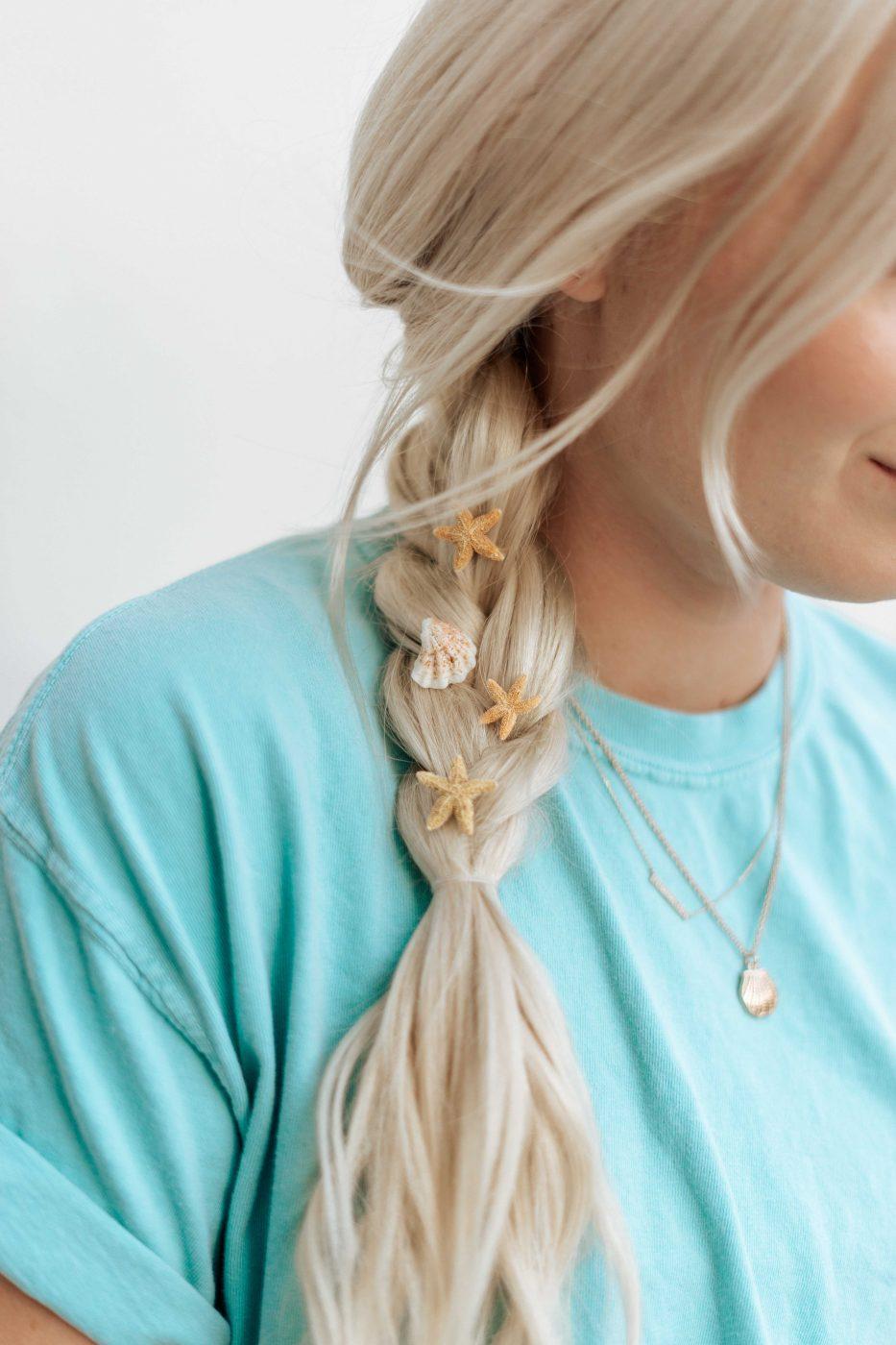DIY Starfish Hair Rings - Hair Accessories - Sweet Teal