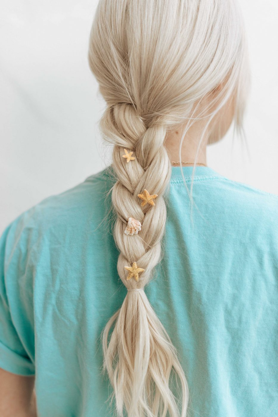 DIY Starfish Hair Rings - Hair Accessories - Sweet Teal by Jenny Bess