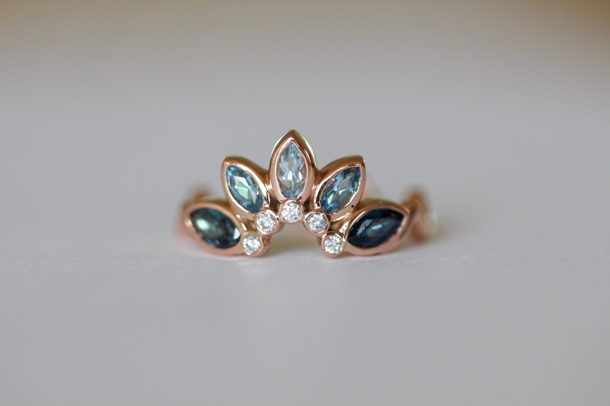 Statice Jewelry Ring - Designed by Jenny Bess