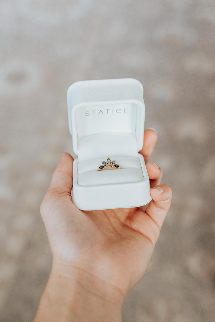 Custom Ring From Statice Jewelry - Jenny Bess